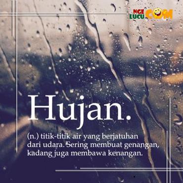 Gambar DP BBM Hujan Romantis Bergerak