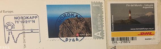 Sellos Ushuaia y Cabo Norte