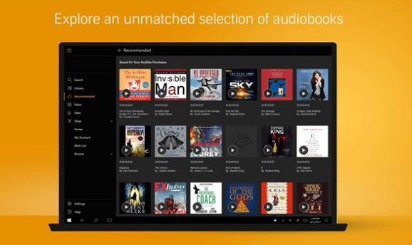 Audiobooks from Audible Apk free on Android - Myappsmall