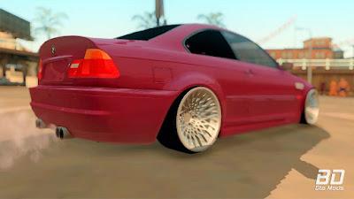 Download, mod, carro, BMW, E46, M3, GTA, San Andreas, Alemão, Esportivo