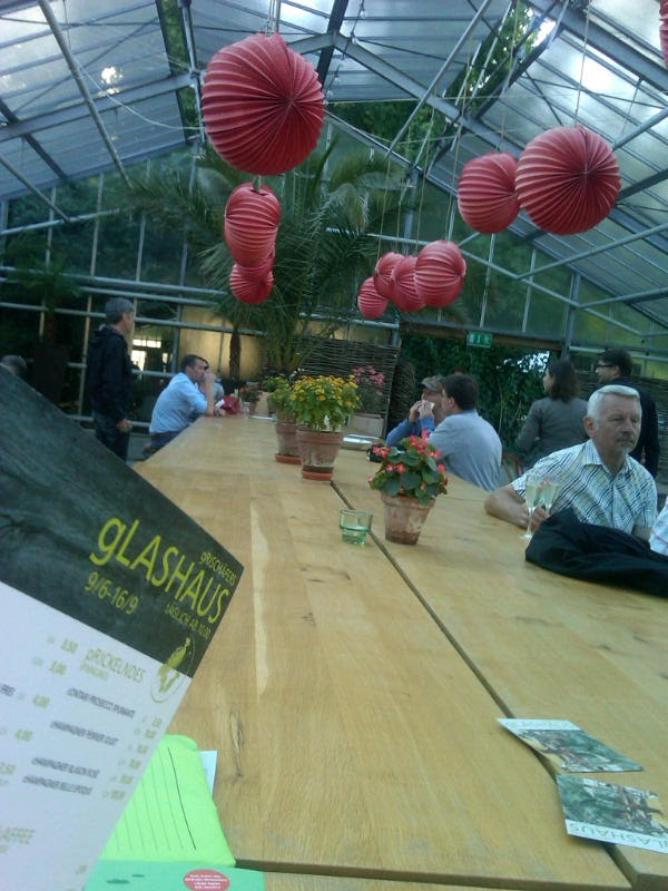 Glashaus In Kassel Und In Grafing