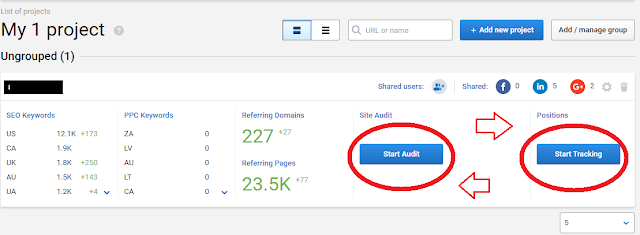 Serpstat on page audit