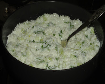 curd rice mixed