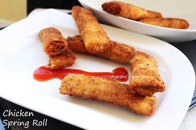 spring roll pastry recipe yummy tummy sanaas malabar chinese kerala chicken mutton beef pork spicy sweet tomato garlic chutney vegetables
