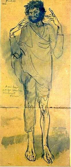 El Loco The Fool Picasso