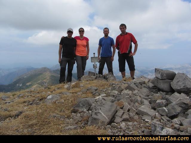Ruta Ventaniella, Ten y Pileñes: Cima del Pileñes
