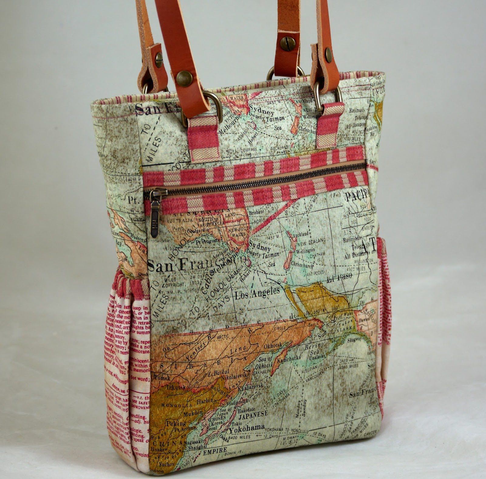 Pink Pony Design: The Bia Bag by Maria @ Finished Seams