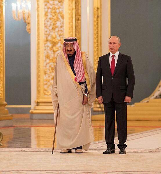 زيارة الملك سلمان لروسيا