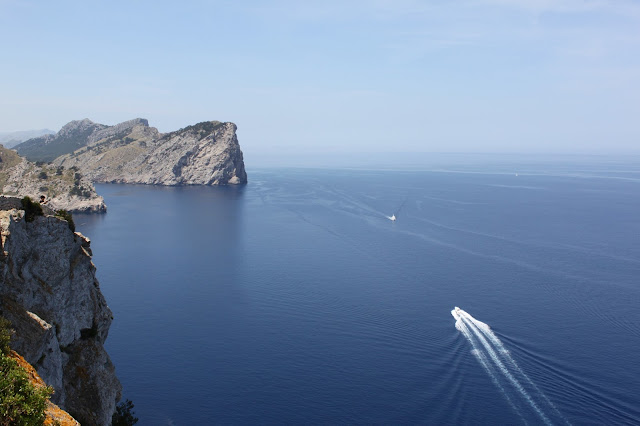 Aussicht aufs Meer vom Cap de Formentor