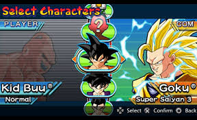 dragon ball shin budokai ppsspp android