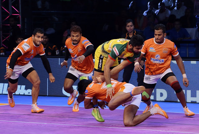 Puneri Paltan beats Patna Pirates 47-42
