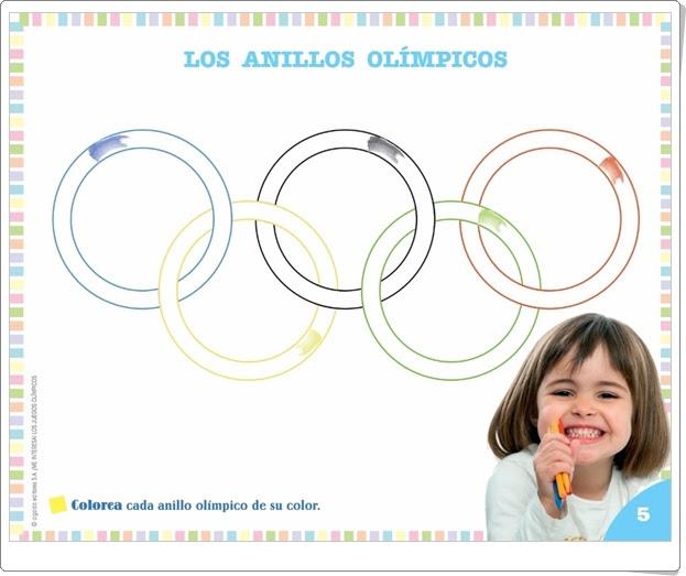 """Proyecto de Educación Infantil de 3 años """"Los Juegos Olímpicos"""" (Colección """"¡Me interesa!"""" de Editorial Algaida)"""