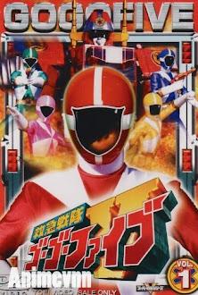 Kyuukyuu Sentai GoGoFive - Siêu Nhân 1999 Poster