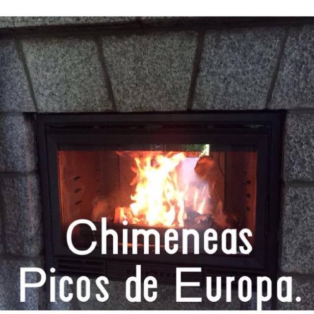 Chimeneas picos de europa instalaci n cassette le a en for Instalacion de chimeneas