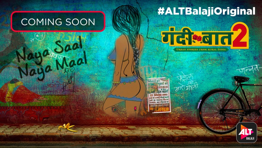 WebSeries Serial 'Gandii Baat Season 2' on ALTBalaji
