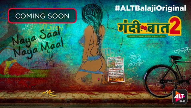 ALTBalaji Gandii Baat Season 2 wiki, Full Star-Cast and crew, Promos, story, Timings, BARC/TRP Rating, actress Character Name, Photo, wallpaper. Gandii Baat Season 2 Web Series on ALTBalaji wiki Plot,Cast,Promo.Title Song,Timing