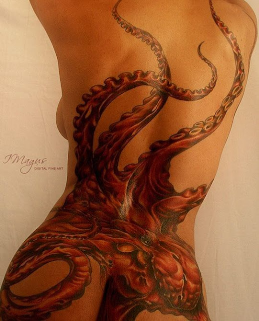 22 Sexy Octopus Tattoo Designs For Creature Lovers