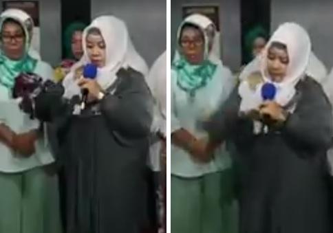 Alhamdulillaah, Allahu Akbar!!! Muslimah Pembela Ahok Nyatakan Taubat Di Depan Ulama, Lalu Lempar Selendang Pemberian Ahok Ke Lantai
