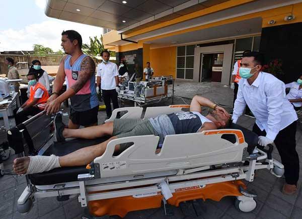 Turistas españoles en el terremoto de Indonesia del 5 agosto 2018