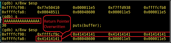 Learning by practicing: Beginning Stack Based Buffer Overflow