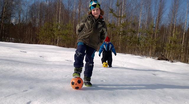 jalkapallo talvi kantohanki