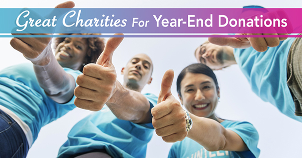 Great Charities For Year-End Donations