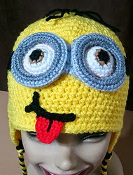 http://www.ravelry.com/patterns/library/minion-earflap-beanie--free