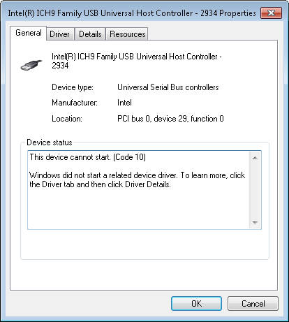 INTEL ICH9 USB 2934 DRIVERS UPDATE
