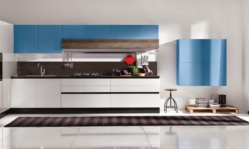 50 ideas de cmo combinar los colores en la cocina  Cocinas con estilo