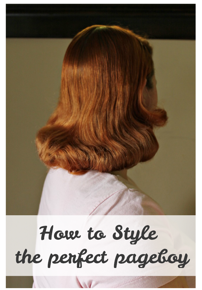 What Is A Pageboy Haircut : pageboy, haircut, Style, Perfect, Pageboy, Hairstyle, Va-Voom, Vintage, Fashion,, Tutorials