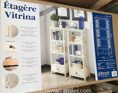 Costco 1041252 - Klaussner Multifunctional Storage Etagere: great for any home