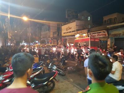 2 hiệp sĩ tại thành phố Hồ Chí Minh bị 3 tên cướp đâm
