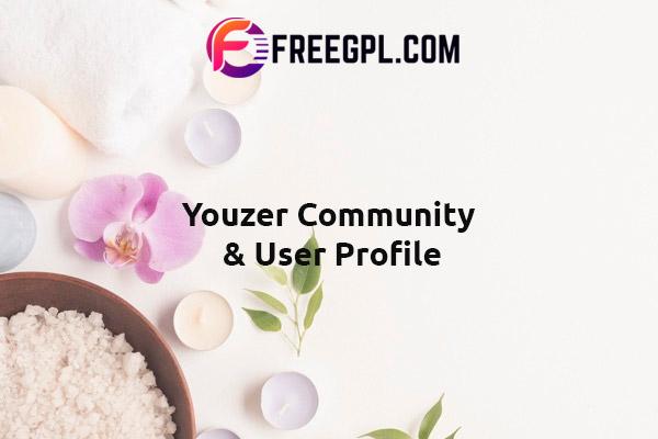 Youzify (formerly Youzer) - Buddypress Community & Wordpress User Profile Plugin Nulled Download Free