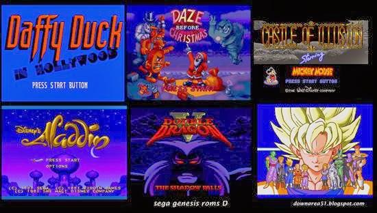 Sega games bin file