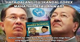 Anwar: Daim and Mahathir approved BNM Forex Trading