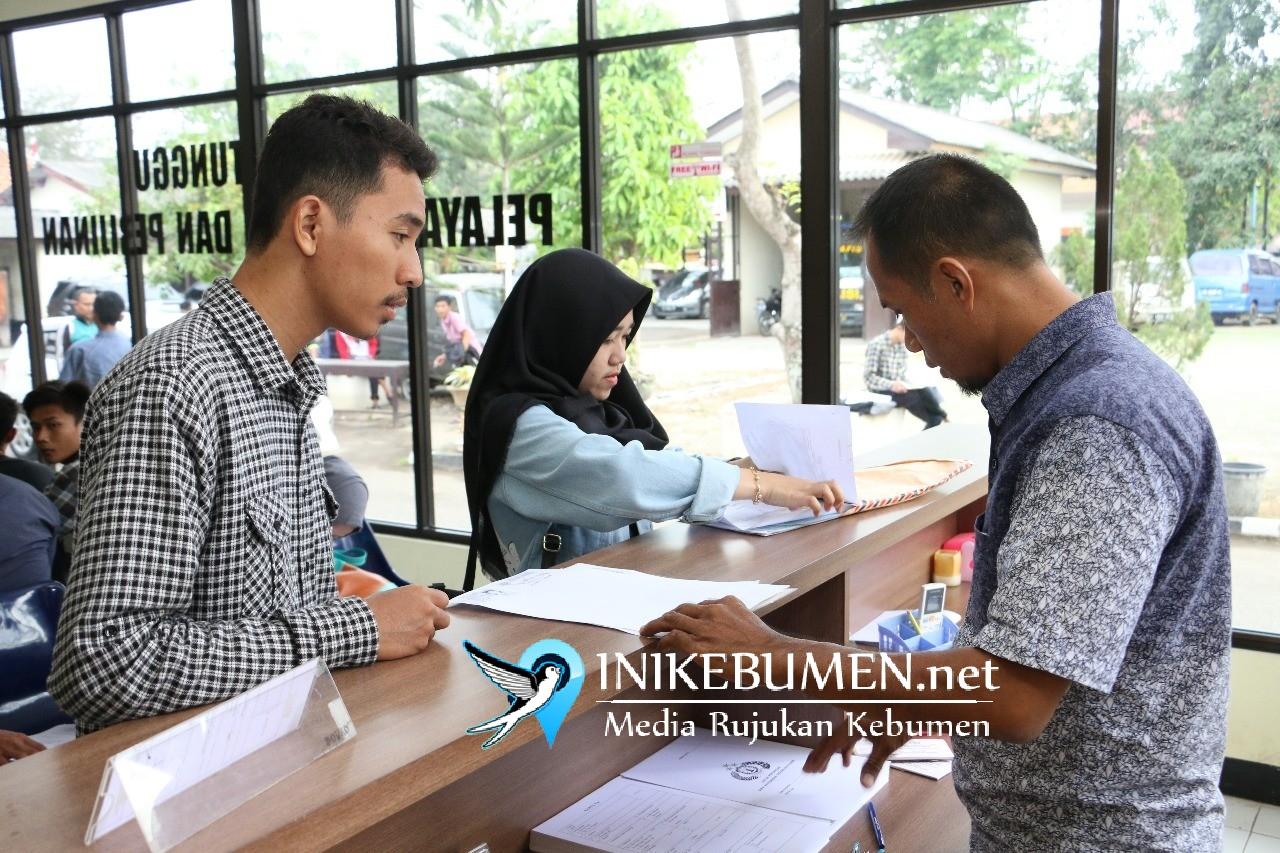 Pelayanan SKCK dan SIM di Polres Kebumen Kembali Beroperasi