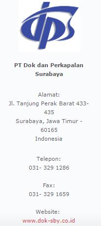PT.Dok dan Perkapalan Surabaya