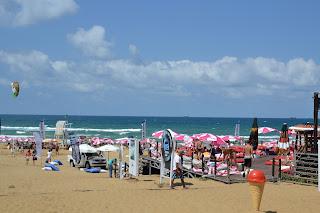 aktivite dolu plaj, Kilyos Burc Beach
