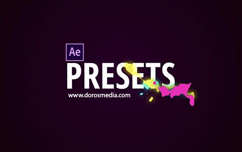 اضافات افترافكت بريسيت تأثيرات بصرية , فلاشية , نارية, رائعة للافترافكت للاستخدامات المختلفة  AFTER EFFECTS  Flash FX Presets