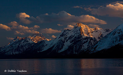 Grand Tetons and Jackson Lake