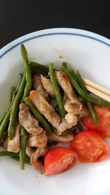 Sauté de porc & Haricots verts ;Sauté de porc & Haricots verts