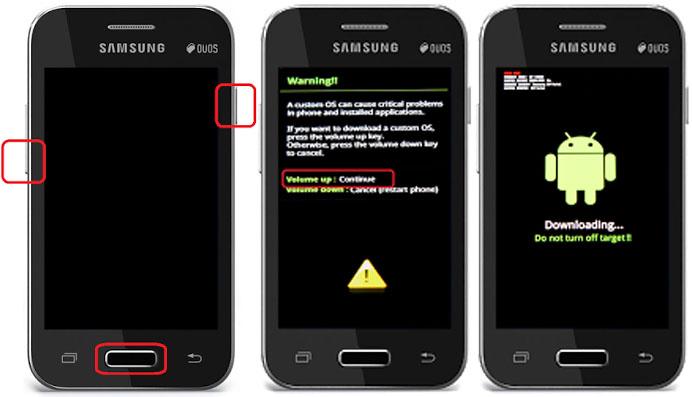 Cara Mengatasi Bootloop Pada Samsung Galaxy Young 2 Duos SM-G130H