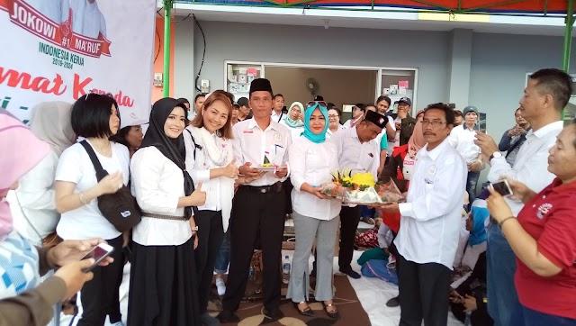 Syukuran Kemenangan Jokowi-Ma'ruf, 1000 sembako di bagikan Ke Warga Tangerang