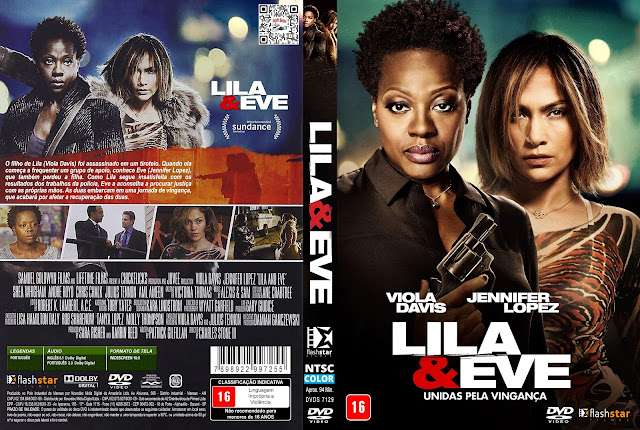 Capa DVD Lila & Eve [Custom]