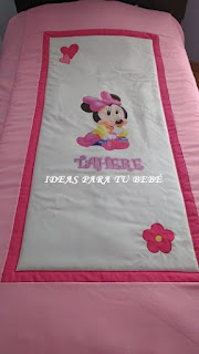 Edredón de cama Minnie