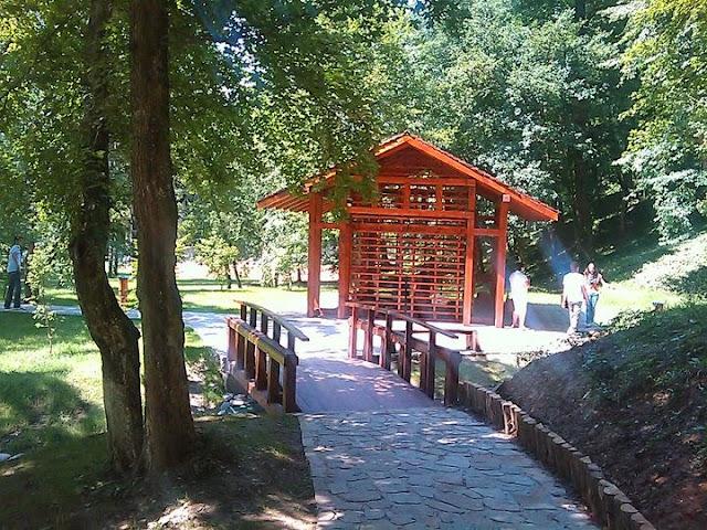 Vrnjački park- japanski vrt
