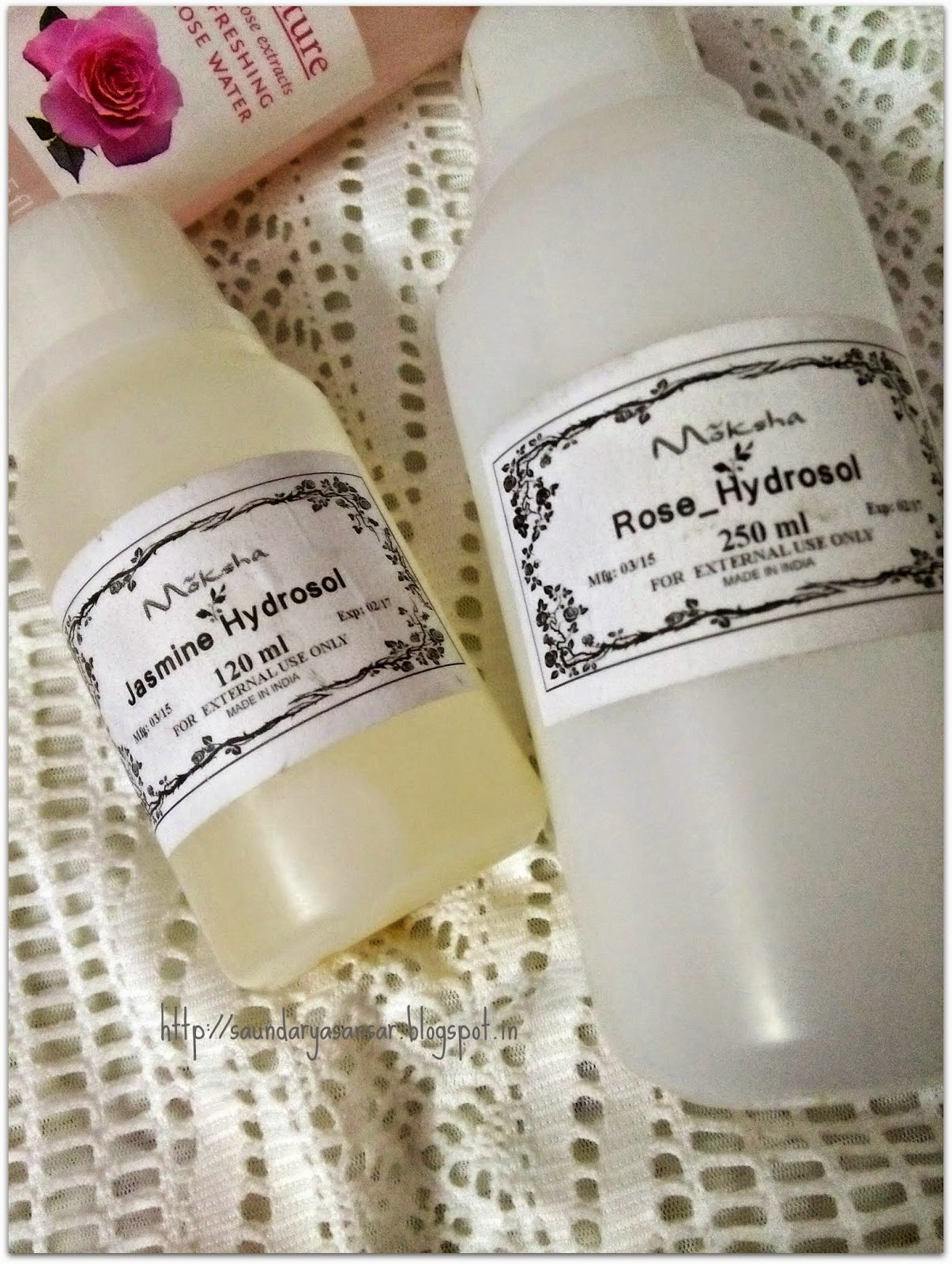 Where to get pure Rose & Jasmine Water
