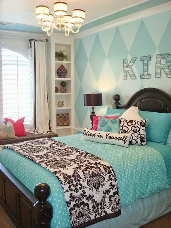Cute and cool teenage girl bedroom ideas diy craft projects - Cute teen room ideas ...