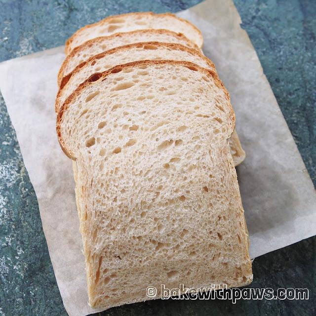 Basic Soft Sourdough Bread