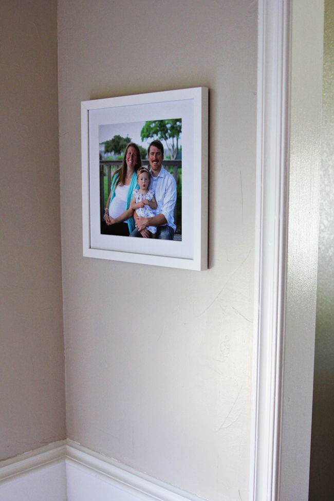 The Lady Okie: Framing Our Maternity Photos with Keepsake (+ ...